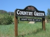 Country Green sign