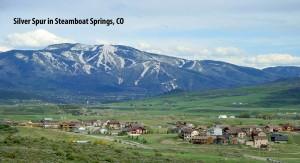 Silver Spur, a popular neighborhood west of Steamboat Springs