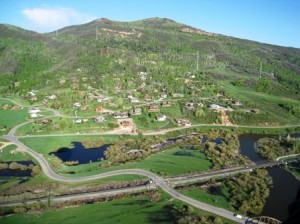 View of Tree Haus in Steamboat Springs