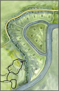 Graystone on the Green site plan