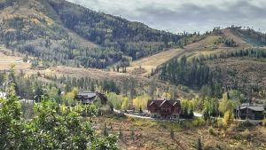 View of Burgess Pines from Ridge Road in Steamboat Springs